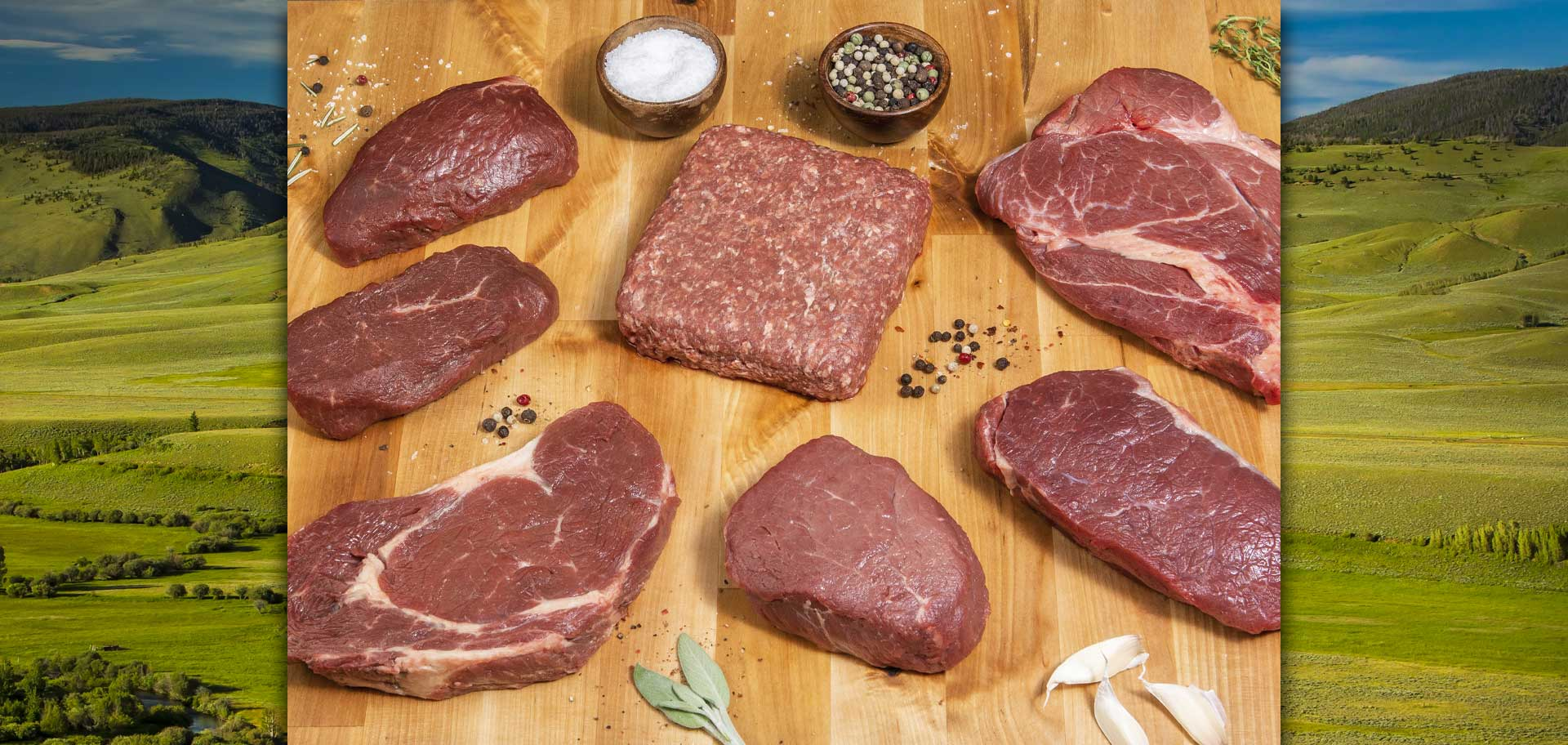 Great Range Premium Bison fresh cuts